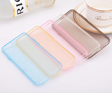 Hot Ultra-thin Clear Soft TPU Case For Apple iPhone 6 4.7inch 6 Plus