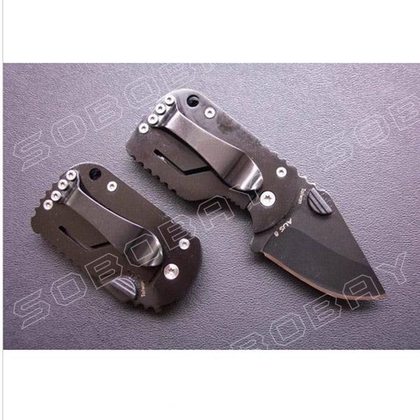 55HRC 420 Boker Knife QQ Black Pig Camping Tactical Hunting Folding Pocket Mini Knife Best Gift