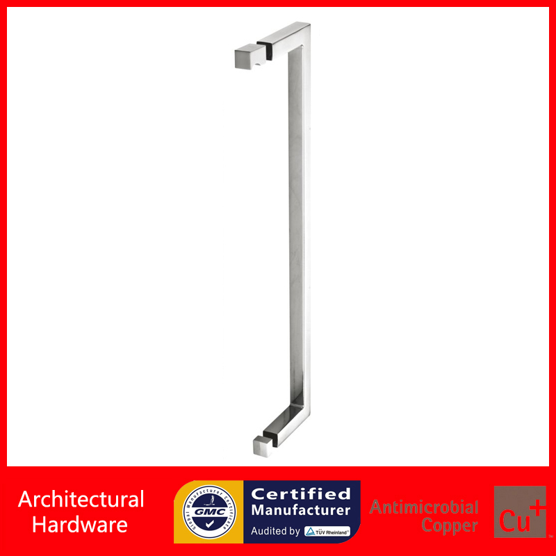 Shower Door Handle Glass Pull Handles PA-649-19*19*469mm Fitting For 6~12mm Thick Glass(China (Mainland))