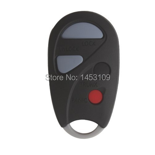 For Nissan 4 Buttons Remote Keyless Car Replacement Key Case Shell 00 01 02 03 04 2000-2004 Nissan Sentra Maxima Fob(China (Mainland))