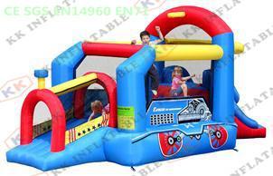 mini Train Jumping House / inflatable baby bouncer Farm family use(China (Mainland))