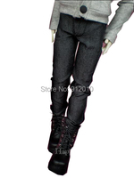 Handsome BJD Doll Black Jeans Pants for 1/6,1/4,1/3(SD10/SD13), SD16,SD17,Uncle BJD Doll Clothes Customized