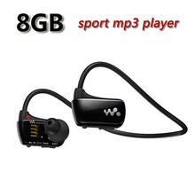 Free Shipping W273 Sports Mp3 player for sony headset 8GB NWZ-W273 Walkman Running earphone Mp3 player headphone