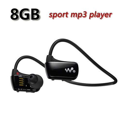 Free Shipping W273 Sports Mp3 player for sony headset 8GB NWZ-W273 Walkman Running earphone Mp3 player headphone(China (Mainland))