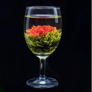 Vacuum packing colorful handmade art of tea ornamental tea herbal tea ball carnation craft(China (Mainland))