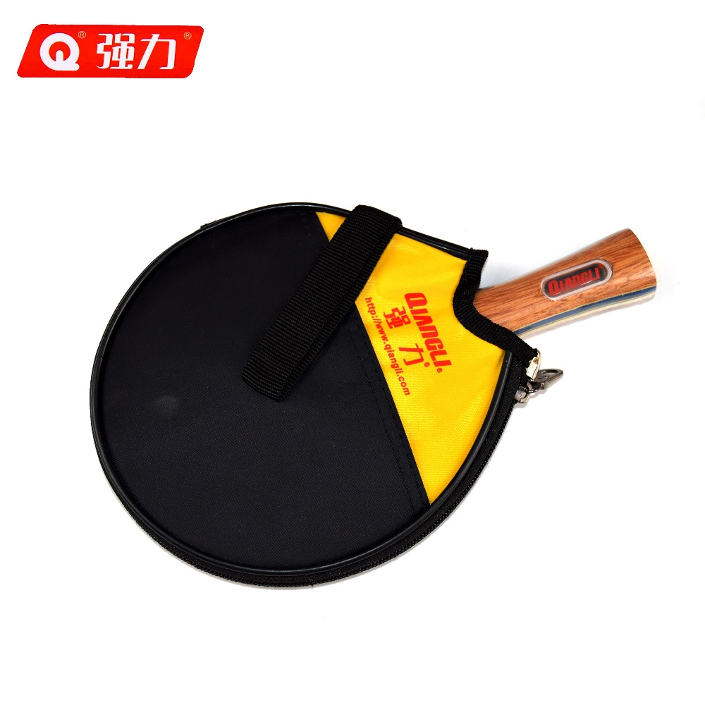 Authentic Qiangli T203 table tennis ping pong table tennis blade table tennis rubber table tennis racket stiga(China (Mainland))
