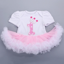 2016 christening newborn baby girl princess lace dress,toddler girl Party birthday clothing,roupas bebe kids tutu dress #7C1009(China (Mainland))
