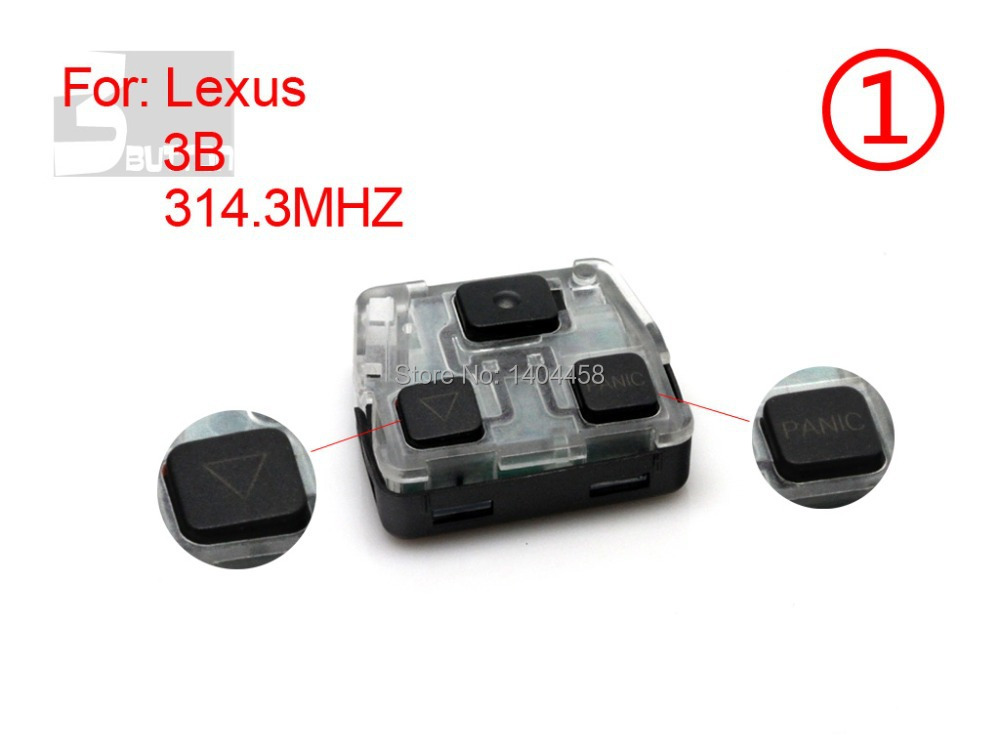 High Quality,Auto remote key,Lexus remote 3 button 314.3MHZ-1,free shipping<br><br>Aliexpress