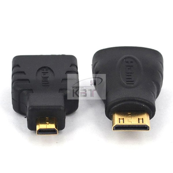 2pcs/set HDMI to Mini HDMI to Micro HDMI Adapter Male to Female Converter for Xbox 360 for PS3 HDTV Gold-Plated Connector HD(China (Mainland))