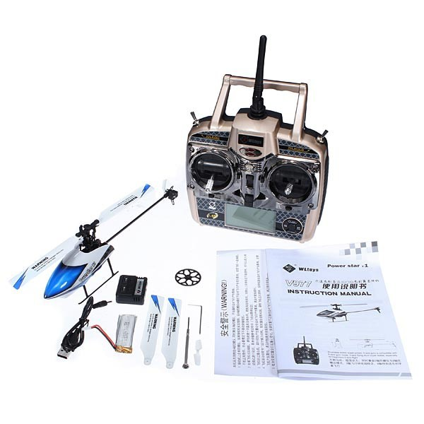 V977-rc helicopter-6CH 2.4G Brushless RC Helicopter-5