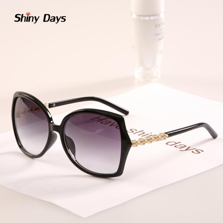 Женские солнцезащитные очки Shinny days Vogue 2015 Oculos N357 vogue vogel очки черного кадра серебряного покрытия линза мода полной оправе очки vo5067sd w44s6g 56мм