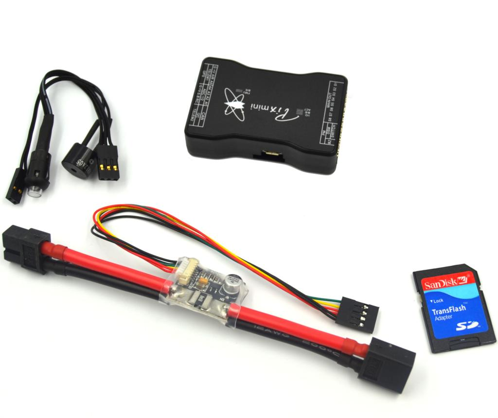 Mini Pixhawk Flight Controller 32bit ARM Pixhawk2.4.6 Hardware w/ Power Module<br><br>Aliexpress