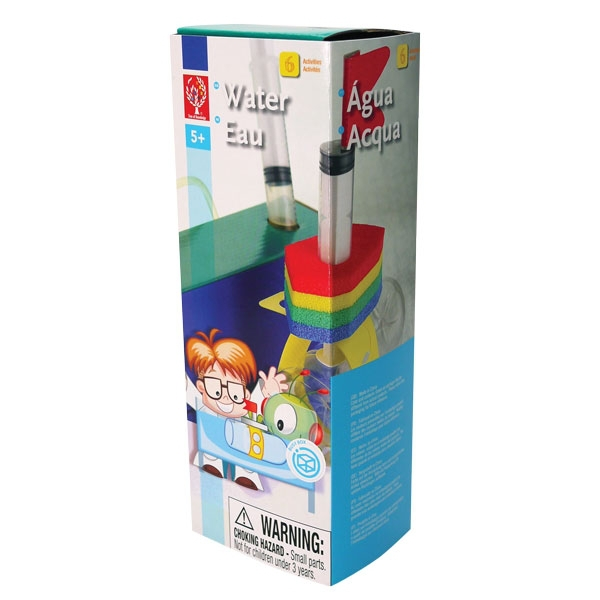 TOK 1060 Science Educational Toys The Water Kit to make child learn basic properties of liquids and the ways that water works(China (Mainland))