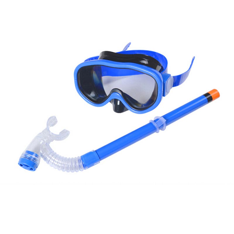 Children high quality snorkel waterproof diving mask kids for Dive tube