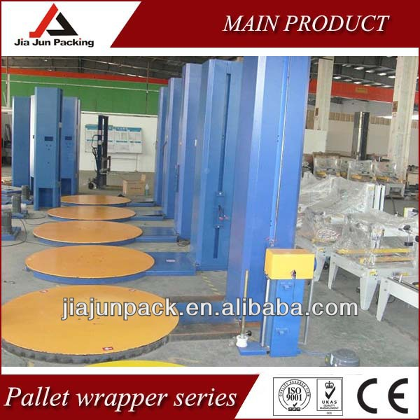 pallet stretch film wrap machine with CE&ISO9001(China (Mainland))