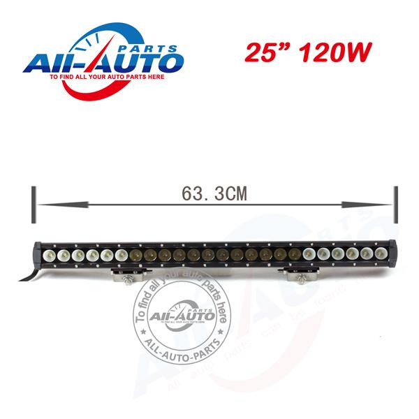 25 single row high power led light bars 120W light bars boat APL-S017-120<br><br>Aliexpress