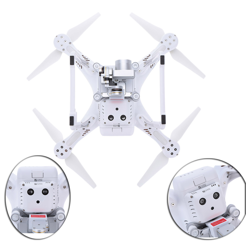 100% Original DJI Phantom 3 Advanced FPV camera drone with 1080p Camera rc helicopter with Brushless Gimble GPS system DHL Free