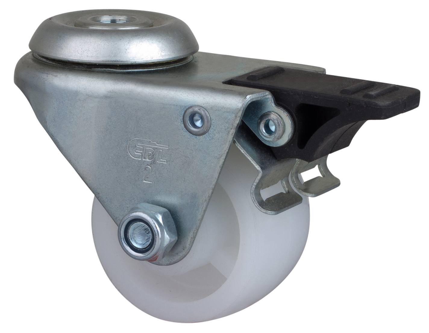 casters low gravity 2 inch 80Kg air brake equipment (PO) polyolefin neck caster 3182-04(China (Mainland))