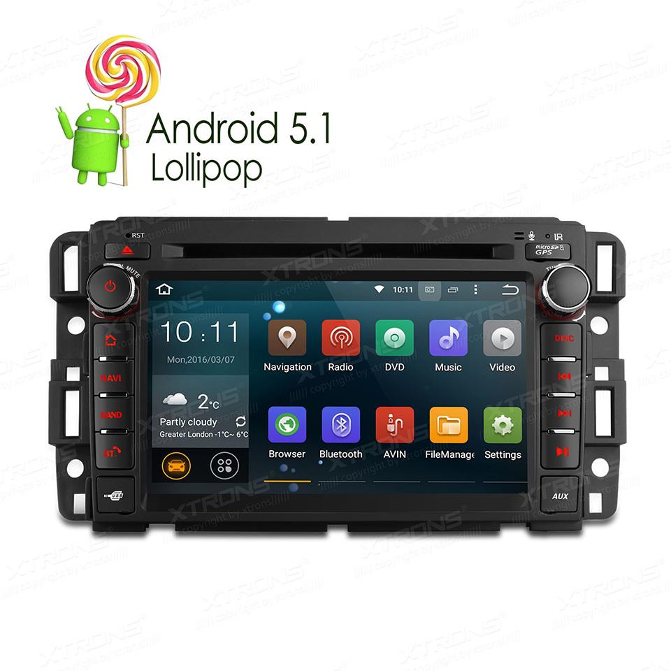 "Newest 7"" Android 5.1 Lollipop Quad Core Car DVD GPS For Chevrolet Yukon Chevy Silverado Avalanche Acadia 1024*600 RDS Autoradio(China (Mainland))"