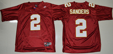 100% Stitiched,high quality Florida State Seminoles (FSU) Deion Sanders Throwback camouflage(China (Mainland))