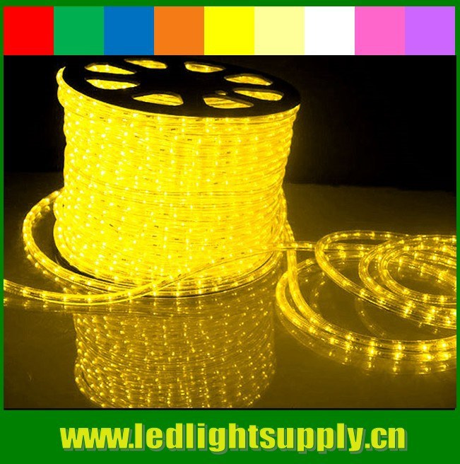 yellow rope lights