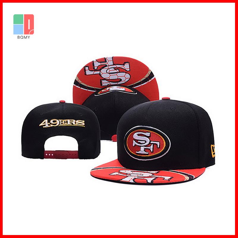 San Francisco 49ers Sports Hat Caps American Football Team Logo Snapback Baseball Cap Hat For Men and Woman High Quality(China (Mainland))