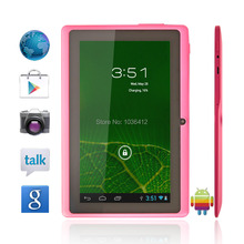 hot sale Gooweel 7 inch android  tablet pc  A13 Q88  android 4.0 DDR3 512MB ROM 4GB Wifi single Camera Low  Price