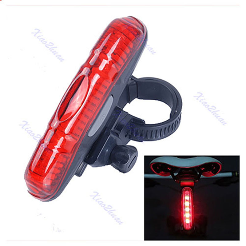New High Power 5 LED 3 Mode Cycling Bicycle Bike Caution Safety Rear Tail Lamp Light(China (Mainland))