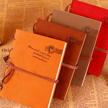 Buy 2107 New High Quality A5 A6 Vintage Leather Notebook Retro Journal with Key Binding Diary Book Gold Age Stationery Gift 1418 for $9.90 in AliExpress store