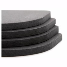 20pcs New Stand For A Washing Machine Black Shock Pads Non-Slip Mats Refrigerator Anti-vibration Pad Bathroom Accessories(China (Mainland))