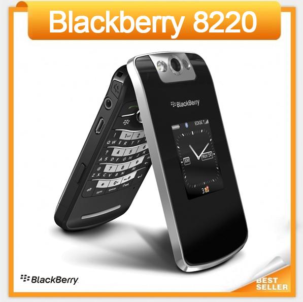 Original 8220 Unlocked BlackBerry Pearl Flip 8220 cell phone Refurbished(China (Mainland))