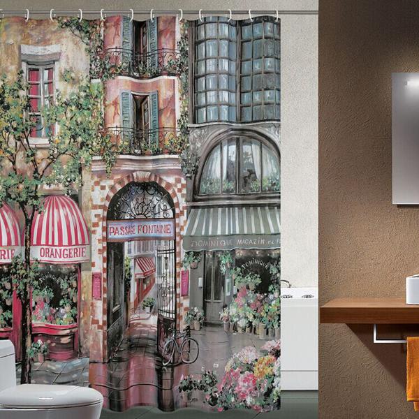 Luxe Badkamers Eindhoven ~   polyester badkamer gordijn douchegordijnen 180cmx200cm(China (Mainland