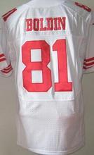 #35 Eric Reid Jersey #38 Jarryd Hayne #28 Carlos Hyde #82 Torrey Smith #81 Anquan Boldin Jersey #80 Jerry Rice jerseys(China (Mainland))
