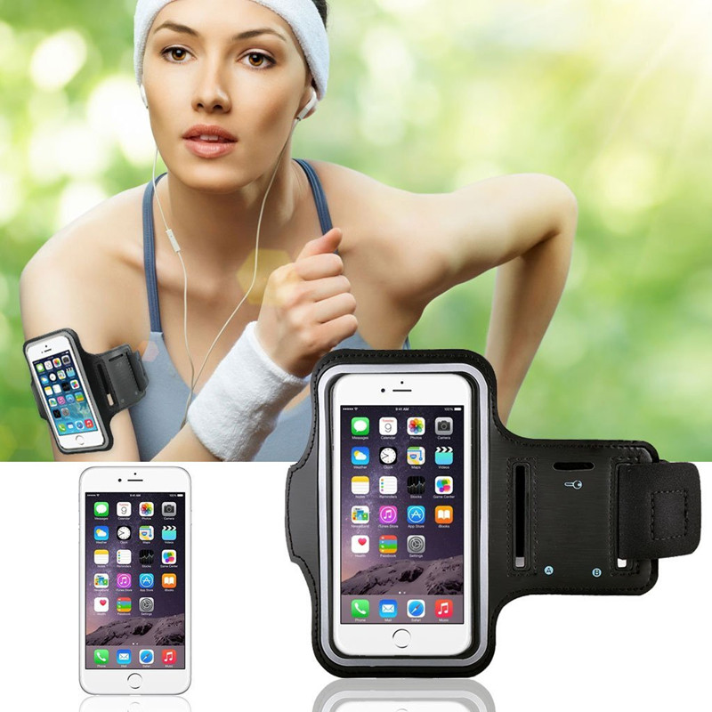 For Iphone 6 6S 4 7 Plus 5 5 Running Case Workout Cover Sport Gym Case