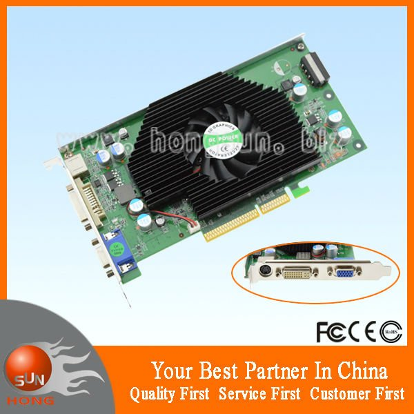 *NEW* GF 6800 XT 512MB AGP Graphic Card and compatible with Windows 7(China (Mainland))