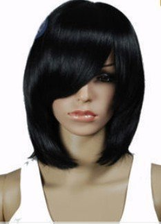 Beautiful New Long Straight Hair Blend Light Brown Wig wigs free shipping