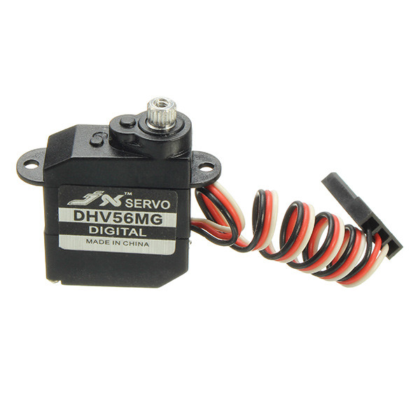 Rc Airplanes Parts JX Servo DHV56MG 5.6g Coreless LV Low Voltage DS/MG Metal Gear Servo 0.89kg 0.10sec For Rc Cars(China (Mainland))