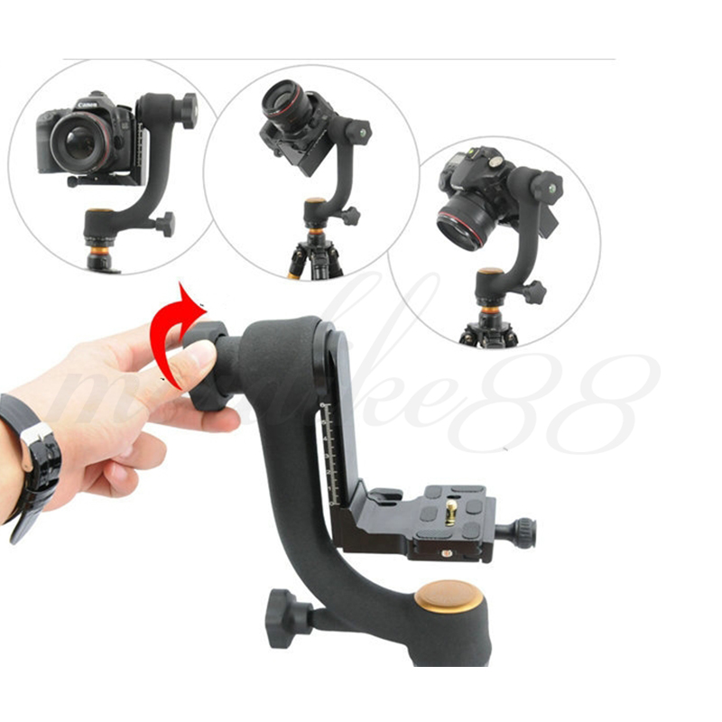 Pro 1/4 360 Swivel Pro Panoramic Gimbal clamp Tripod Ball Head QZSD-45 System Free shipping<br><br>Aliexpress
