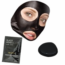 Hot!!! 1 pcs  Pilaten Blackhead Remover Mask Pore Cleanser For Nose And Facial  Deep Cleansing purifying Black Head