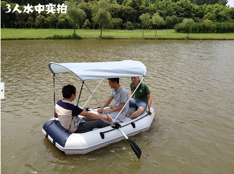 Three people fishing boats inflatable kayak thickening for How to not get seasick on a fishing boat