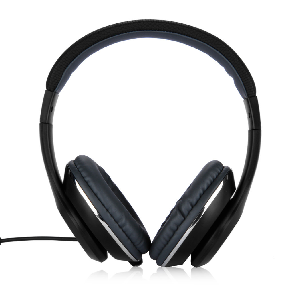 Ausdom Original Extra Bass MIC Full-Size High Quality DJ Wired Over Ear Stereo Headphones For Tablet Smartphone(China (Mainland))