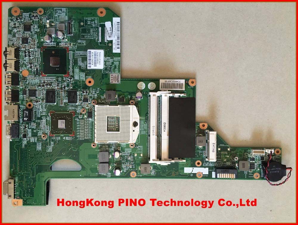615382-001 for HP G62 CQ62 Laptop Motherboard HM55 ATI Video DDR3 100% Tested(China (Mainland))