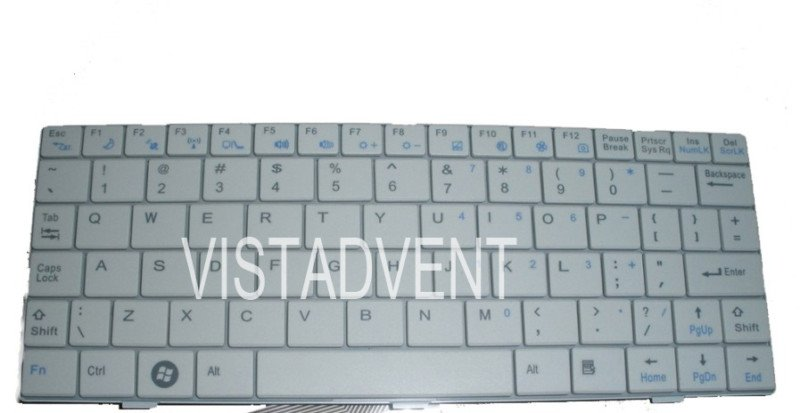 NEW US for GERICOM ECS G10 G10IL Keyboard white(China (Mainland))
