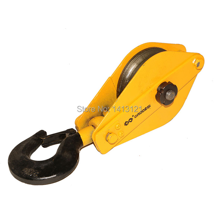 free shipping 0.5t  Lifting pulley lifting hook Lifting Tools electric hoist hook hardware<br><br>Aliexpress