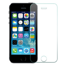 10pcs/lot 0.3mm 2.5D for iPhone 5 SE Front Tempered Glass Screen Protector