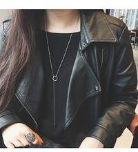 Sprzedaż biżuterii naszyjnik moda lato wielowarstwowe metalowe czeski europejski i amerykański damski naszyjnik nadaje się do 2019 nowy(China)