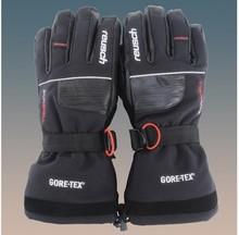 2013 новинка высокое качество открытый водонепроницаемый ветрозащитный мото-перчатки кожаные лыжные перчатки мужской зима теплая бесплатная доставка