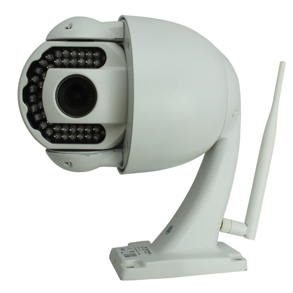 8 pieces/lot Outdoor Wifi Sricam AP005 IP Camera 720p HD 5x Optical Zoom H.264 DVR P2P Built-in IR Cut Night Vision IR 40M <br><br>Aliexpress