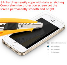 2016 Anti-Explosion Screen Protector Film Protective Film Hd toughened screen protector for iphone 5