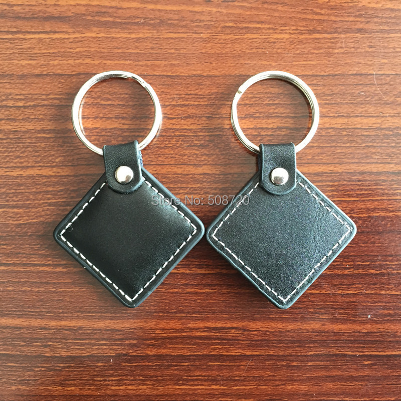 5PCS 125KHZ RFID Leather Keyfobs tag token compatible with EM4100 tag(China (Mainland))